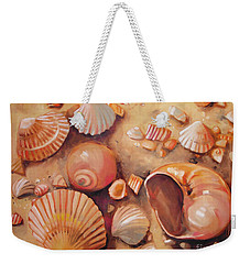 August Shells Weekender Tote Bag