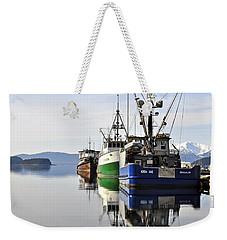 Auke Bay Reflection Weekender Tote Bag