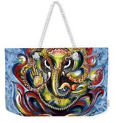 Aum Ganesha Weekender Tote Bag by Harsh Malik
