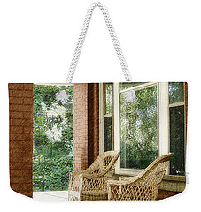 Aunt Jane's Porch Weekender Tote Bag