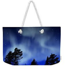 Aurora Borealis Wall Mural Weekender Tote Bag