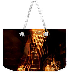 Weekender Tote Bag featuring the photograph Aurous by Jessica Shelton