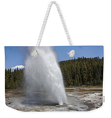 Aurum Geyser Eruption Weekender Tote Bag