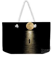 Auspicious Moon Weekender Tote Bag