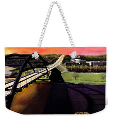 Austin 360 Bridge Weekender Tote Bag by Marilyn Hunt