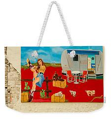 Austin - Camping Mural Weekender Tote Bag