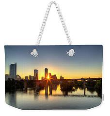 Austin Sunrise Weekender Tote Bag