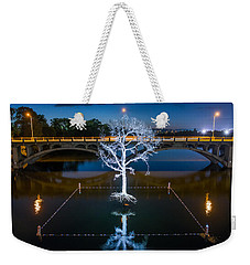 Austin Thirst Tree Weekender Tote Bag by Tod and Cynthia Grubbs
