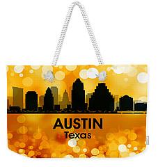 Austin Tx 3 Weekender Tote Bag