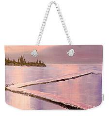 Austinmer Pool At Sunset Weekender Tote Bag