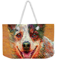 Australian Cattle Dog Weekender Tote Bag by Jane Schnetlage