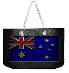 Australian Flag Stone Texture Weekender Tote Bag