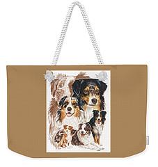 Australian Shepherd Revamp Weekender Tote Bag