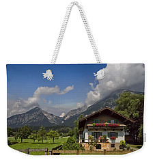 Austrian Cottage Weekender Tote Bag