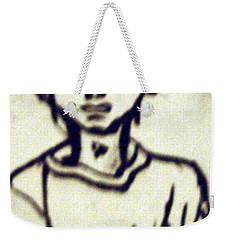 Autographed Drawing Weekender Tote Bag