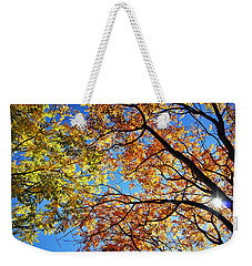 Autumn Afternoon Weekender Tote Bag by Cricket Hackmann