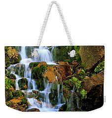 Autumn Along Summit Creek Weekender Tote Bag