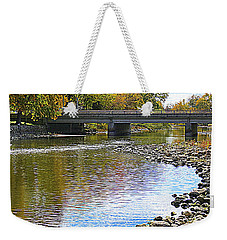 Autumn Along The Fox River Weekender Tote Bag