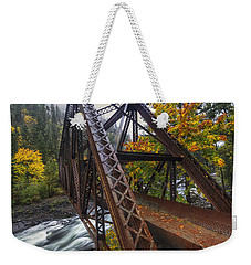 Autumn And Iron Weekender Tote Bag