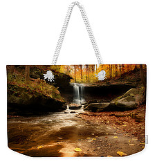 Autumn At Blue Hen Falls Weekender Tote Bag by Rob Blair
