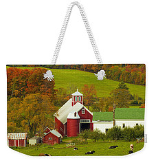 Autumn At Bogie Mountain Dairy Farm Weekender Tote Bag
