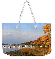 Autumn At Cold Spring Harbor Weekender Tote Bag