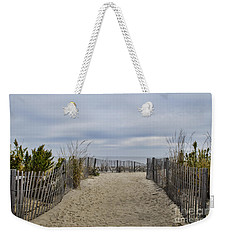Autumn At The Beach Weekender Tote Bag