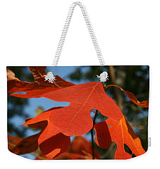 Autumn Attention Weekender Tote Bag by Neal Eslinger
