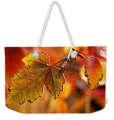 #autumn Weekender Tote Bag