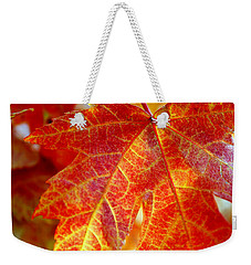 Autumn Blaze Weekender Tote Bag