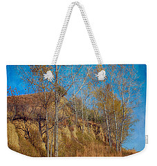 Autumn Bluff Painted Weekender Tote Bag