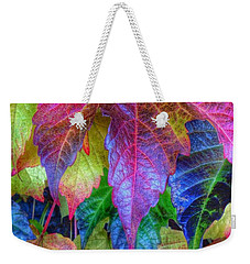 Autumn Bold Weekender Tote Bag