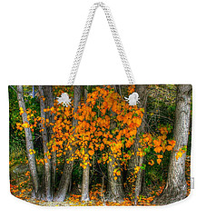 Autumn Breakout No.2 Weekender Tote Bag