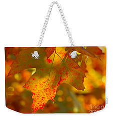 Autumn Colored Weekender Tote Bag