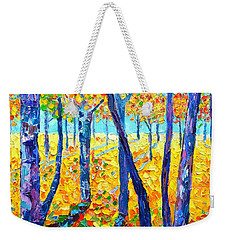 Autumn Colors Weekender Tote Bag by Ana Maria Edulescu