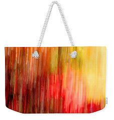 Autumn Colors In Abstract Weekender Tote Bag