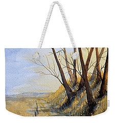 Autumn Country Road Weekender Tote Bag