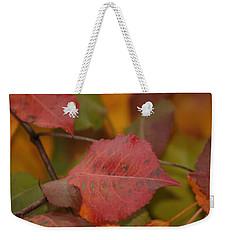 Autumn Crisp Weekender Tote Bag