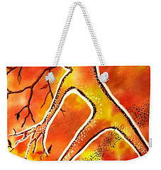 Autumn Dancing Weekender Tote Bag