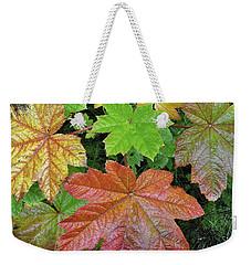 Autumn Devil's Club Weekender Tote Bag