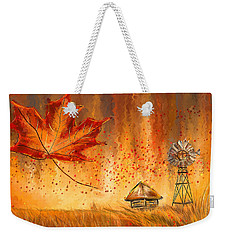 Autumn Dreams- Autumn Impressionism Paintings Weekender Tote Bag by Lourry Legarde