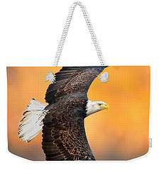 Autumn Eagle Weekender Tote Bag