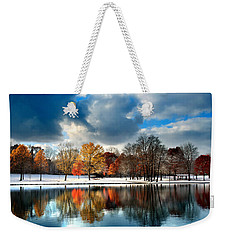 Autumn Finale Weekender Tote Bag