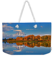 Autumn Foliage At The Oxbow Weekender Tote Bag