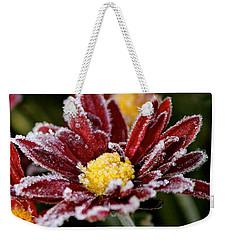 Autumn Frost Weekender Tote Bag by Tiffany Erdman