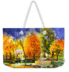 Autumn Gold 2 Weekender Tote Bag