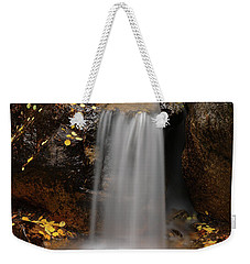 Autumn Gold And Waterfall Weekender Tote Bag