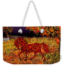 Autumn Horse Bewitched Weekender Tote Bag