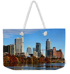 Autumn In Austin Weekender Tote Bag by Judy Vincent