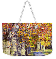 Autumn In Hyde Park Weekender Tote Bag by Joan Carroll
